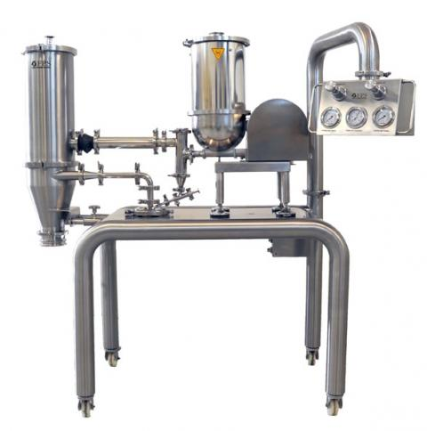 Pilot unit milling machine for Pharmaceutical, chemical, cosmetic and food activities - PilotMill-3