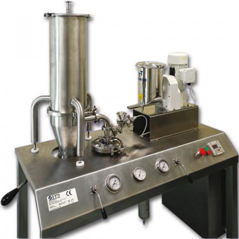 Pilot unit milling machine for Pharmaceutical, chemical, cosmetic and food activities - PilotMill-4
