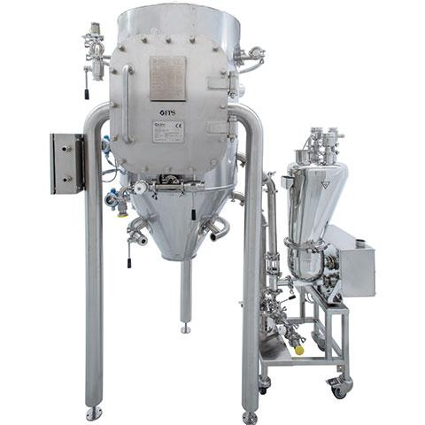 Pilot unit milling machine for Pharmaceutical, chemical, cosmetic and food activities - PilotMill-5