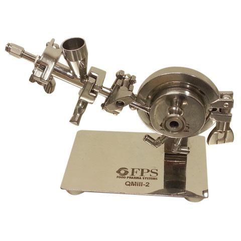 Milling machine for Pharmaceutical, chemical, cosmetic and food activities - QMill2